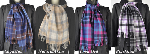 Begg-Scotland Pure Luxury Lambswool//Angora Large Scarf